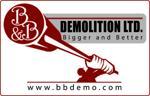 B&B Demolition Ltd Logo