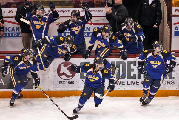 MN H.S.: Karma Comeuppance? Trojans Shut Down Benilde's Vaunted First Line And Beat Champs